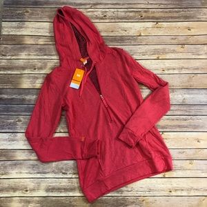 Lucy NWT Coral Sexy Hoodie II